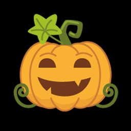 Cute Halloween Pumpkin Emoji Stickers