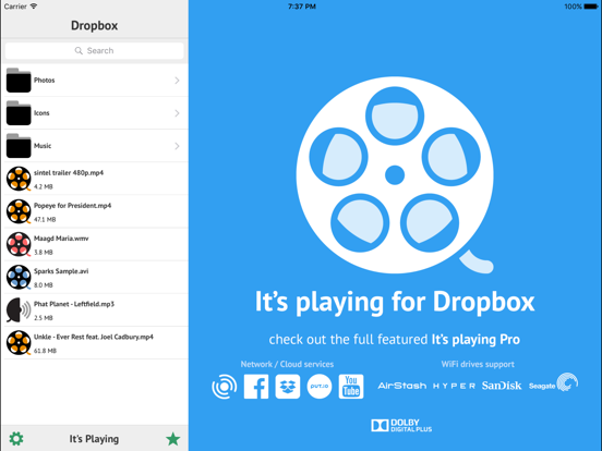 It's Playing for Dropbox | App Price Drops