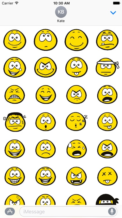 Basic Yellow Stickers
