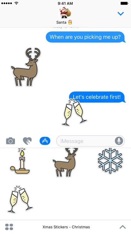 Xmas Stickers - Christmas screenshot-2
