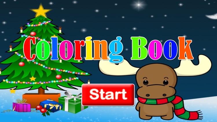 Santa claus markers and Christmas coloring games