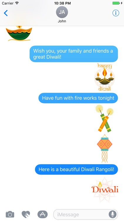 Diwali Greetings Sticker Pack screenshot-3