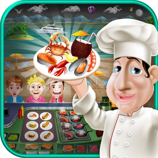 Seaside Seafood Kitchen Fever Cooking Girls Games By Imran