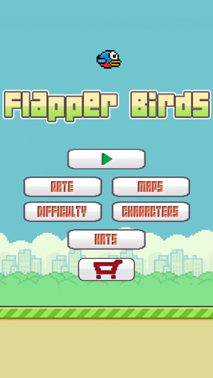 Flapper Birds - The Impossible Flappy Adventure Go screenshot-3