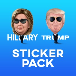 Presidential Candidate Caricature Sticker Pack