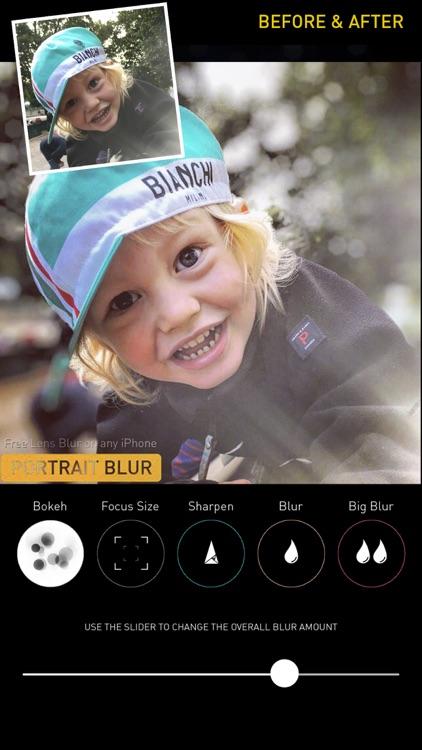 Portrait Mode Pro — Lens Blur and Bokeh editor screenshot-3