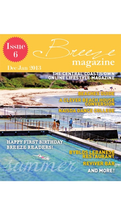 Breeze Magazine Central Coast