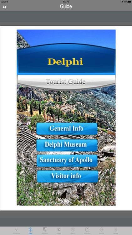 Delphi Archaeological Site Tourist Travel Guide screenshot-4