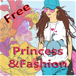 Princess Coloring Book Drawing Painting Colorful