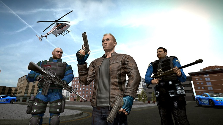 Police Squad Gangster Chase screenshot-4