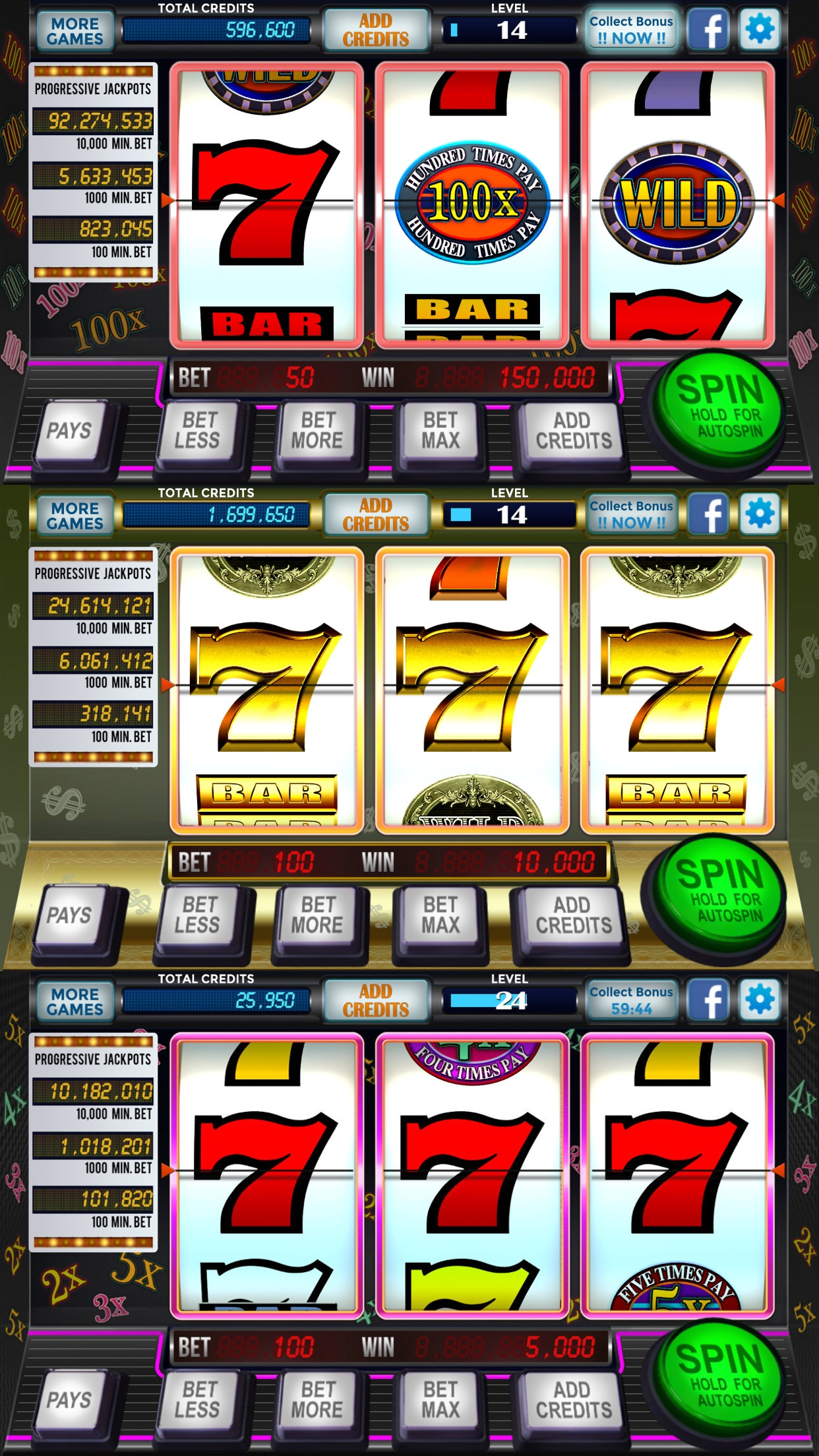 777 Slots Casino - 3-Reel Classic Slot Machines Screenshot