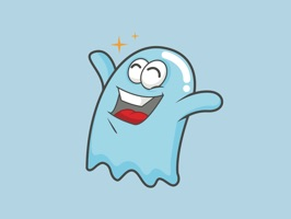 Express yourself in richer ways by using this adorable Ghost Sticker Pack