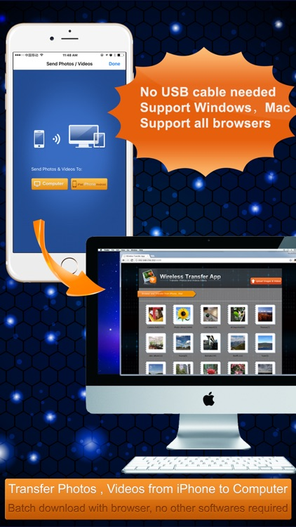 Wireless Transfer App:Sync backup photo and video screenshot-3
