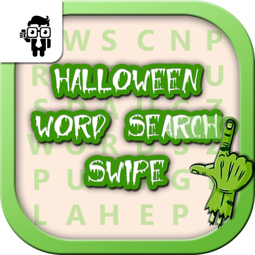Halloween Word Search Swipe
