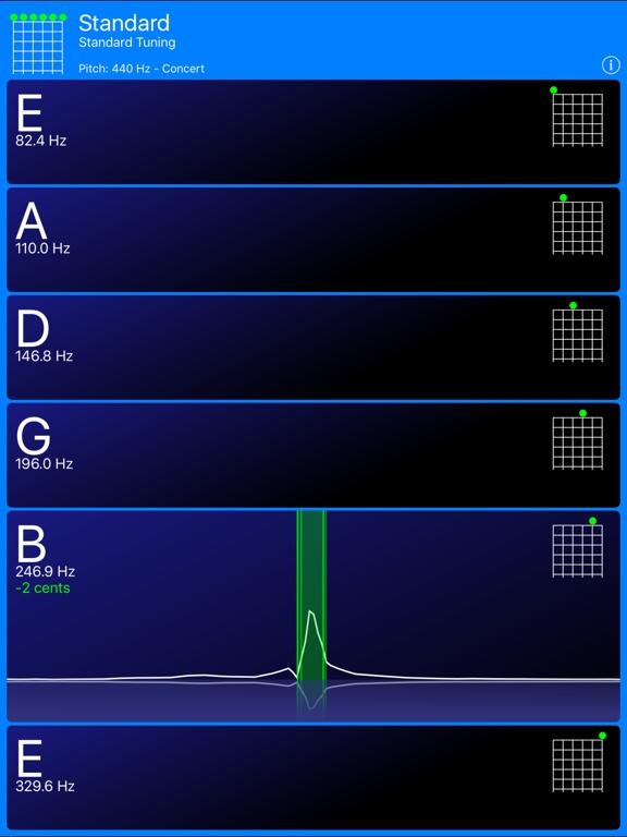 Guitar Tuner! screenshot