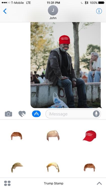 Trump Stamp screenshot-3