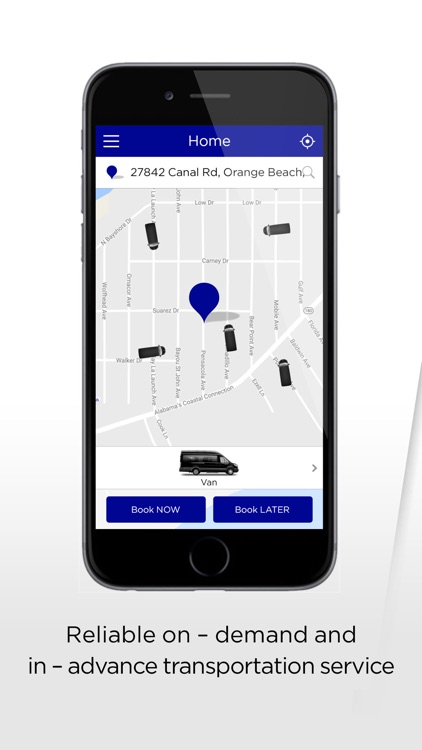 Coast.Cab passenger app screenshot-0