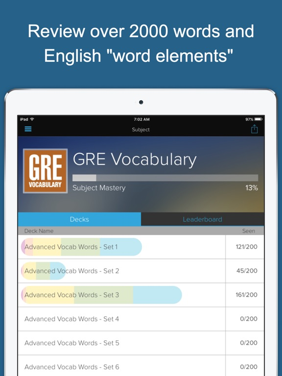 Screenshot #2 for GRE Vocab Genius
