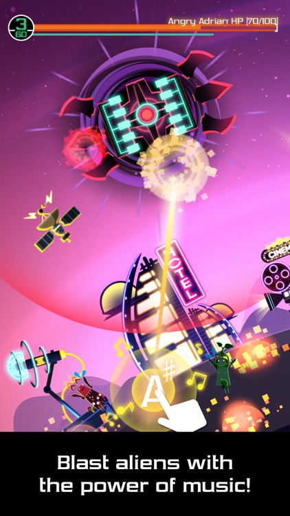Groove Planet - Rhythm Clicker screenshot-0