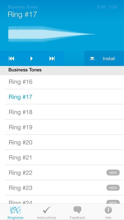 Ringtones for iPhone (Full Version) screenshot-3