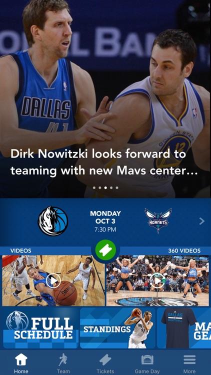Official Dallas Mavericks