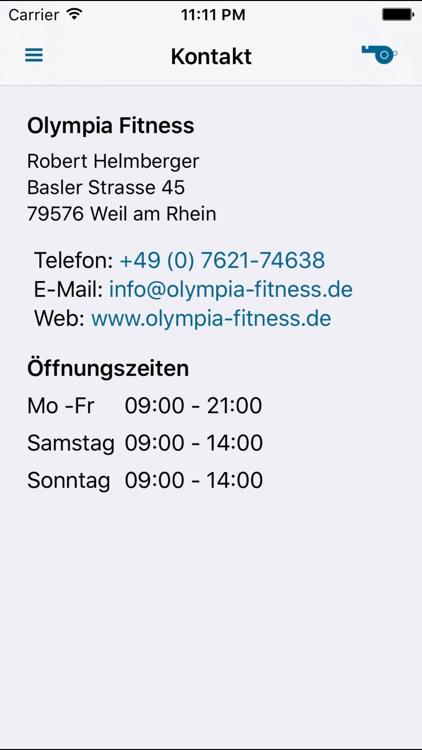 Olympia Fitness screenshot-4