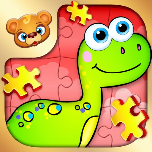123 Kids Fun PUZZLE RED - Top Slide Puzzle Games