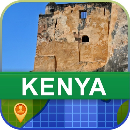 Offline Kenya Map - World Offline Maps