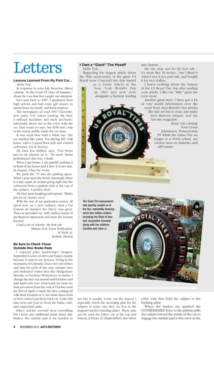 Auto Restorer magazine screenshot-3
