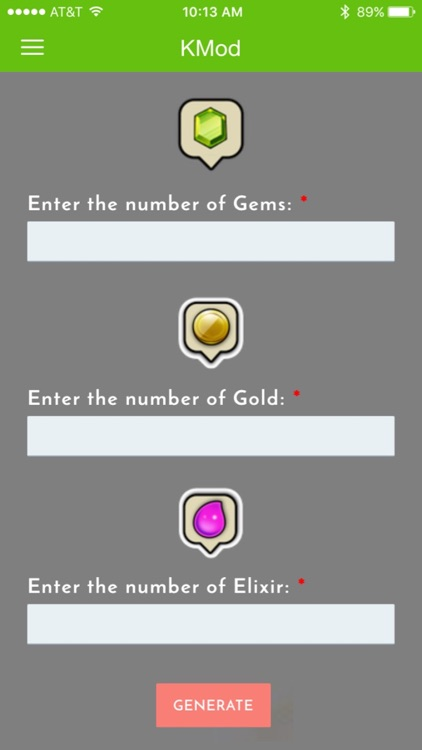 XMod Free Gems Calculator for Clash of Clans