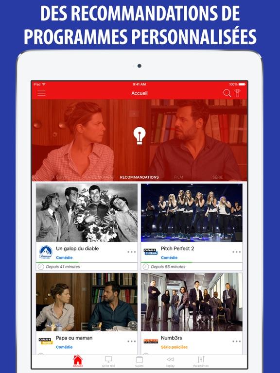 Screenshot #5 pour Télé Poche Guide TV