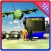 Airplane Prisoner Transport & Police Cop Duty Sim
