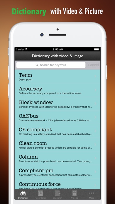 Mechanical Study Guide and Exam Courses - Glossary | App Price Drops