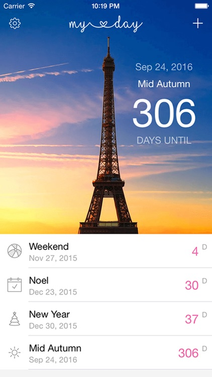 Events Countdown Widget screenshot-3