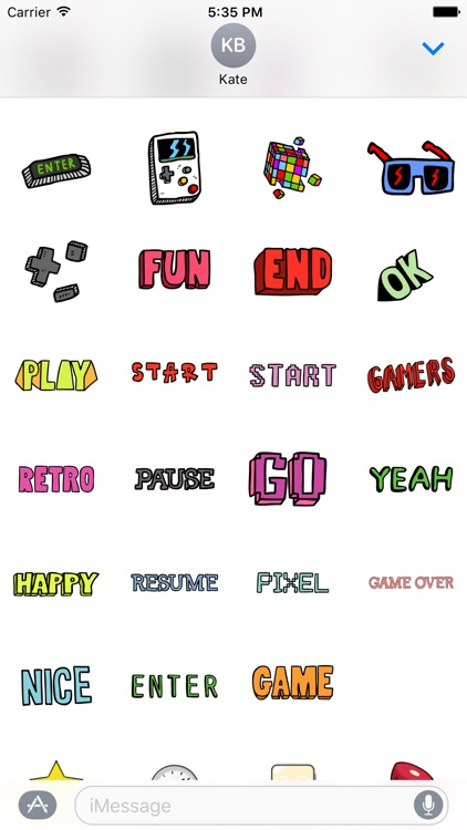 Game Stickers
