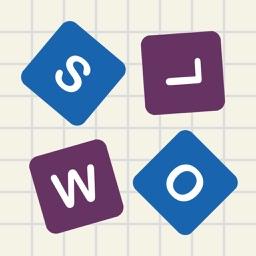 Letter Fall : Swipe Letters - Slow version