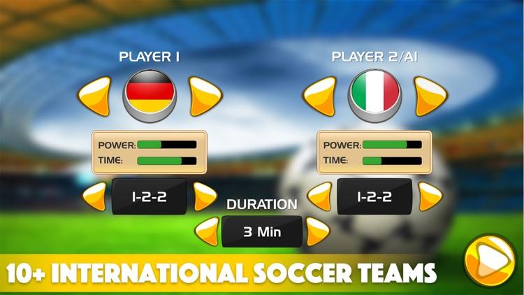 Flick Soccer 3D Super All Star Soccer screenshot-3
