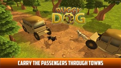 Drive Dog Buggy Taxi:  Dog Cart driving simulation screenshot three