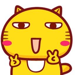 Maru Nanu Cat Animated Stickers