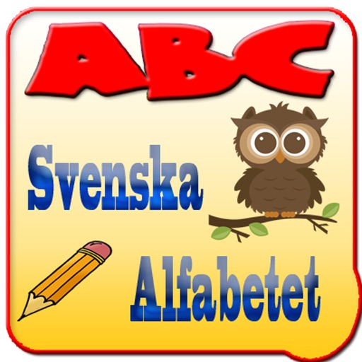 Svenska alfabet - ABC - Swedish Alphabet