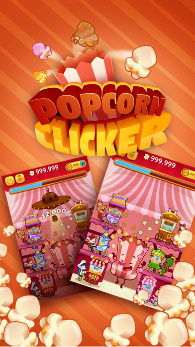 Popcorn Clicker - Manage Your Own Popcorn Cart!