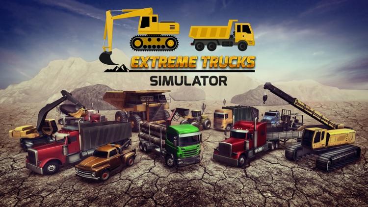 Extreme Trucks Simulator screenshot-0