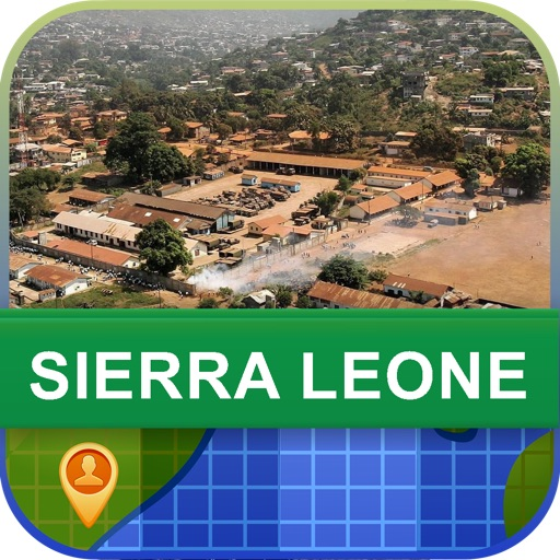 Offline Sierra Leone Map - World Offline Maps icon