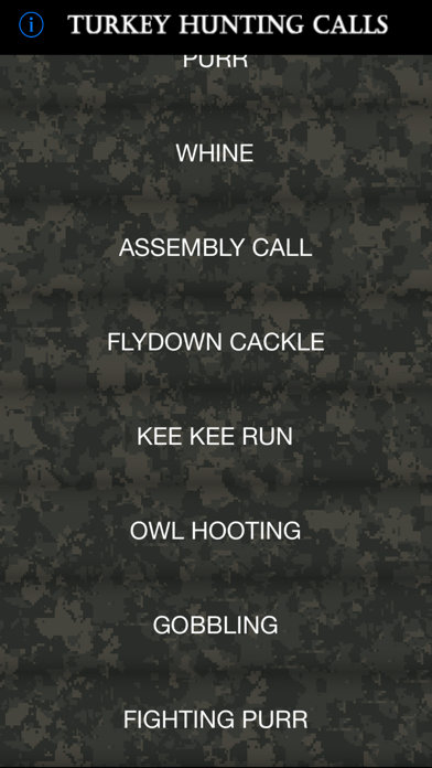Turkey Hunting Calls review screenshots