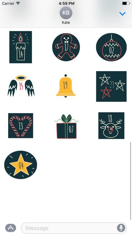 Christmas Advent Calendar - Fc Sticker