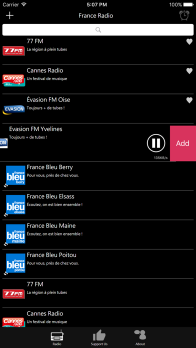French Radio - FR Radio screenshot four