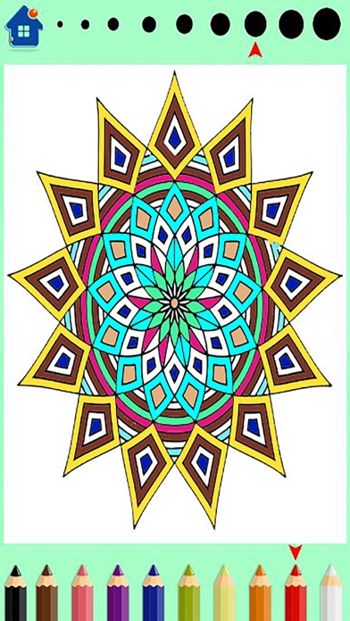 Screenshots Mandala Coloring Book