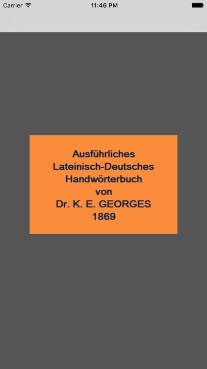 Latein-Deutsch (Georges)
