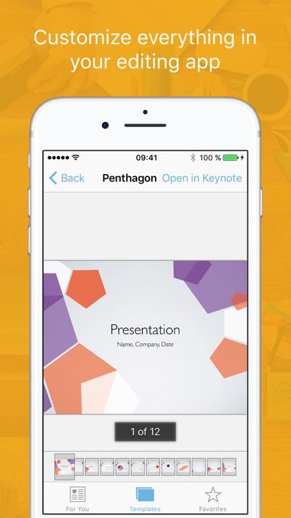 Templates for iWork 2 (Bundle Edition) screenshot-4