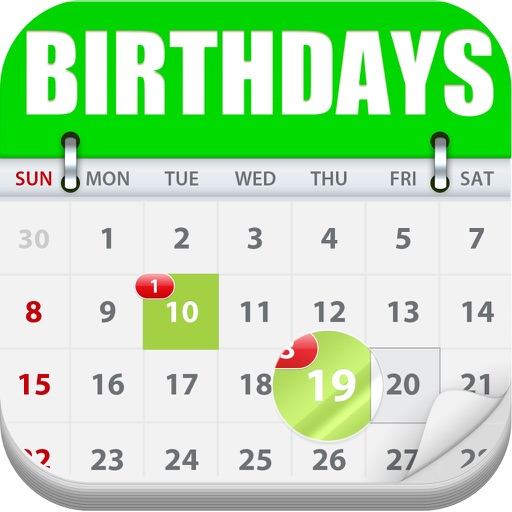 Birthday Count Down - My Birthdays Calendar !